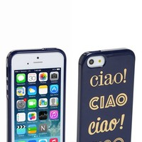 kate spade new york 'ciao ciao ciao ' iPhone 5 & 5s case