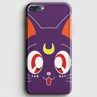 Sailor Moon Glitter Luna Moon Cat iPhone 7 Plus Case