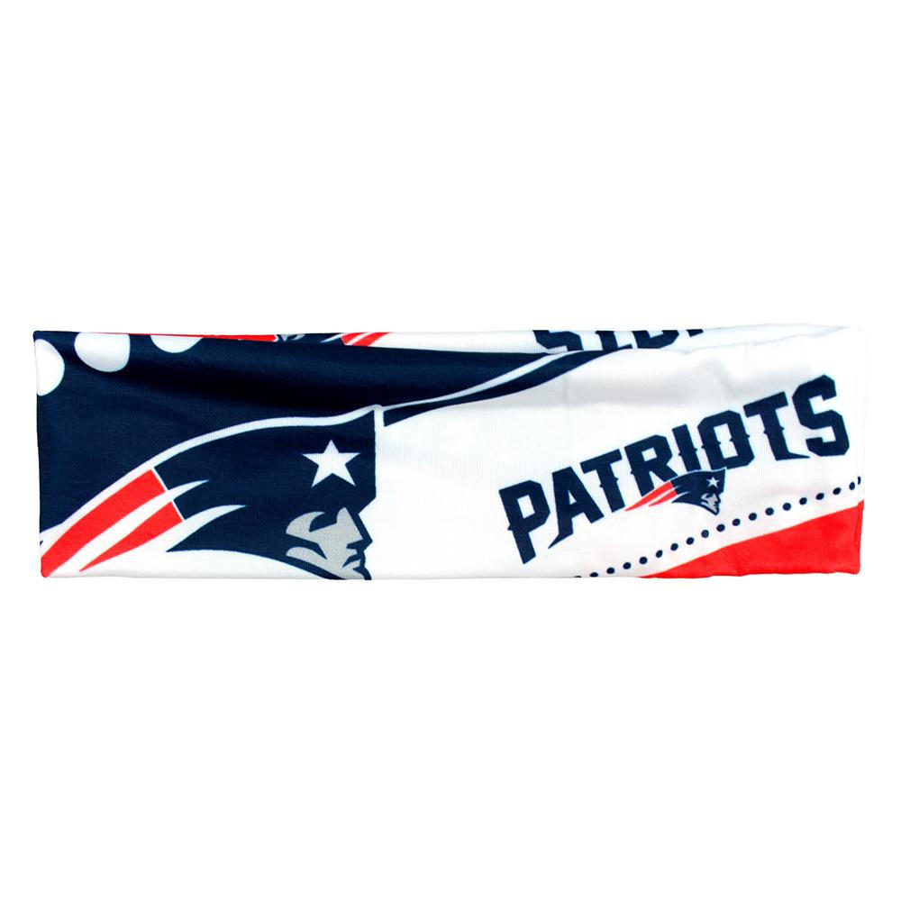 94107f02 New England Patriots NFL Stretch Headband from For Die Hard Fans