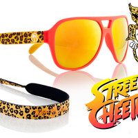 Supercat Custom: Street Cheetah sunglasses