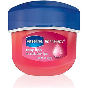 Vaseline, Rosy Lips, Lip Therapy, .25 OZ, (Pack of 3)
