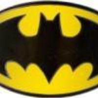 ROCKWORLDEAST - Batman, Belt Buckle, Colored Bat Metal Logo