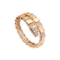 Bulgari | Serpenti Rose Gold Diamond Bracelet BR855312 | BVLGARI