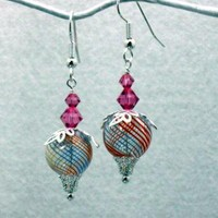 Old Fashioned Candy Earrings by XquisitelyLadyM on Zibbet