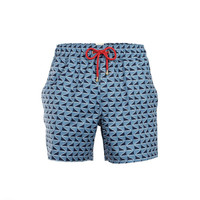 Mazu Swimwear Trunks Qing Dynasty Navy