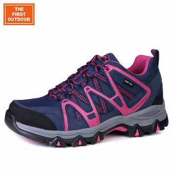 TFO women hiking shoes light  sports shoes outdoor waterproof female climbing shoes breathable 854601