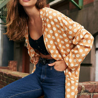 Cooperative Blanche Polka Dot Blazer | Urban Outfitters