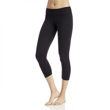 Beyond Yoga Back Gathered Capri Legging
