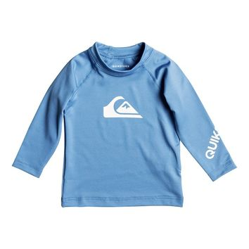 Baby All Time Long Sleeve Rash Tank 889351984050 | Quiksilver