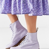 Dr. Martens Pascal Virginia 8-Eye Purple Combat Boot   Urban Outfitters