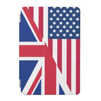 American and Union Jack Flag iPad Mini Cover
