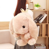 Kawaii Fluffy Bunny Backpack