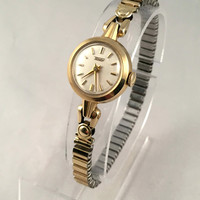 "Vintage Solid Gold 14K Women's wristwatch ""TISSOT"". Casual and elegant wristwatch made by famous Swiss brand ""TISSOT""."