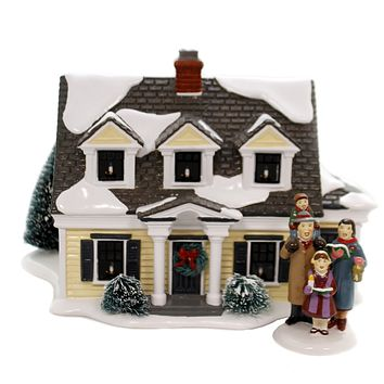 Department 56 House SV WELCOMING CHRISTMAS Snow Village Department 56 6002296