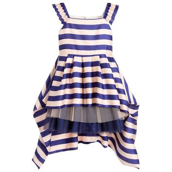 Junior Gaultier Girls Fancy Satin Dress