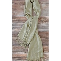 Tasha Polizzi Gold Grace Holiday Scarf
