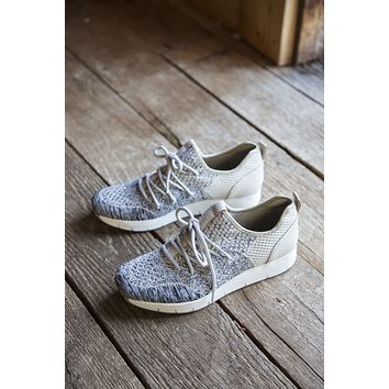 Marine Lace Up Sneaker, Bone | OTBT