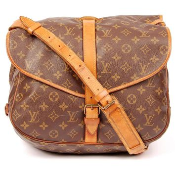 Louis Vuitton Saumur Messenger Bag 5480 (Authentic Pre-owned)