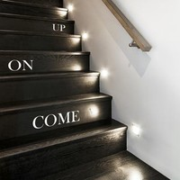 'Come On Up' Stair Stickers