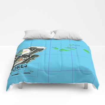 Azores Motorcycle Islanders. Comforters by Tony Silveira