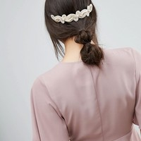 Limited Edition Occasion Crochet Back Hair Comb at asos.com