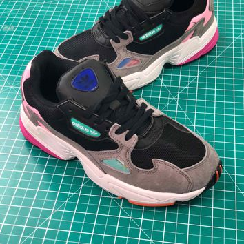 Adidas Falcon Core Black Light Granite Bb9173 Women's Sneakers - Best Online Sale