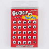 Googly Eye Push Pins Black One Size For Men 21328610001