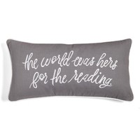 kate spade new york the world was hers accent pillow | Nordstrom