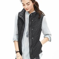 Banana Republic Womens Quilted Field Vest