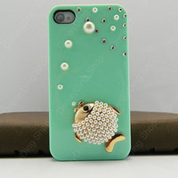 iPhone 5 case  fishy case  iPhone 4s case iPhone 4s case iPhone cover   14 color choices