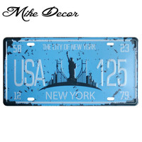 [ Mike86 ] USA NEW YORK 125 Metal Tin Signs Home decor for Bar D-382 Mix order 30*15 CM