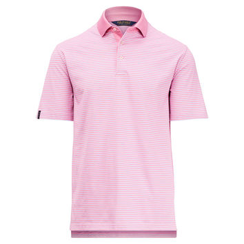 ACTIVE FIT COTTON-BLEND POLO