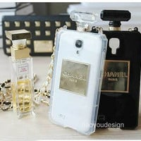 High quality TPU perfume bottle case Samsung Galaxy S3 case S4 9500 case Samsung Galaxy Note 2 case 7100 case Note 3 case friendship gift