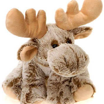 "9"" Sitting Bean Bag Moose"