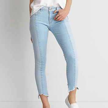AEO Denim X Jegging Crop, Icy Blue