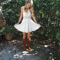 Fitted With Daisies Dress style pic on Free People