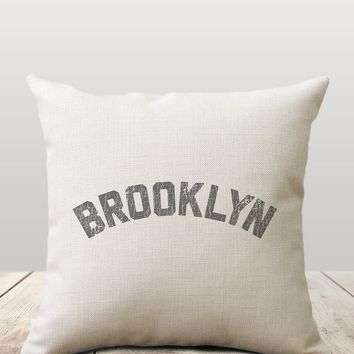 Brooklyn Vintage Pillow