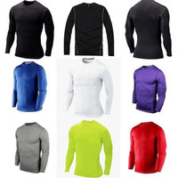 Compression Base Layer Tight Under Skin Long Sleeve Sport Gear