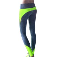 Yoga Leggings Sports pants For Female Women High Waist Gym Slimming quick dry Lulu Workout Sport Fitness Slim Running Clothes