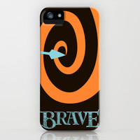 Brave iPhone Case by Citron Vert | Society6