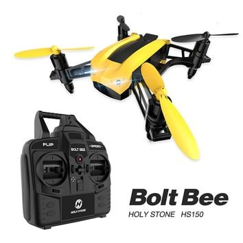 Bolt Bee by Holy Stone Racing Drone - 50 kmh High Speed, Headless Mode Includes Bonus Battery