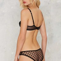 L'Agent by Agent Provocateur Rosalyn Mesh Panty