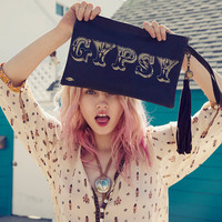 Gypsy Pouch - Distressed Leather (laptop)