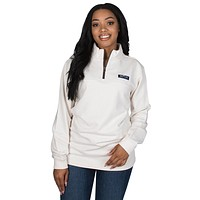 Heathered Whitacre Pullover in Ivory by Lauren James - FINAL SALE