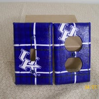 University of Kentucky  UK Outlet Cover And by CearasScissors