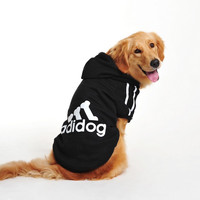 Big Dog Clothes Large Winter Dogs Hoodie Sizes 3XL-9XL