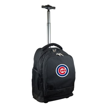 Chicago Cubs Wheeled Premium Backpack