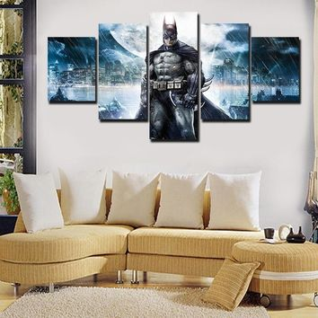 Batman Dark Knight gift Christmas 2017 JIE DO ART Fashion 2017 Hot New Printed Movie Batman Poster Group Painting Children'S Room Decor Print Poster Picture Canva AT_71_6
