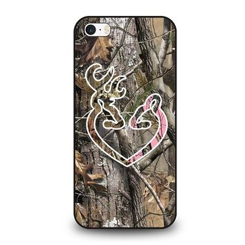 CAMO BROWNING LOVE iPhone SE Case Cover