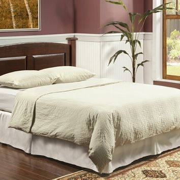 Buffalo collection solid wood headboard in a rustic dark cherry finish twin / full / queen/ cal king / eastern king sizes